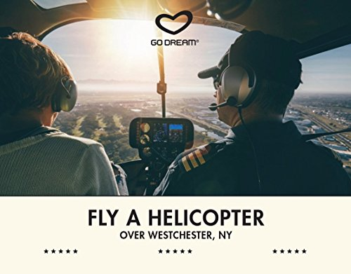 Fly a Helicopter Over Westchester, NY Experience Gift Card NYC - GO DREAM - Sent in a Gift - The In Westchester Stores