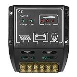Docooler 20A 12V/24V Solar Charge Controller Solar Panel Battery Regulator Safe Protection
