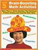 Brain-Boosting Math Activities, Professional Books Staff, 0590065459