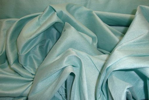 Tiffany Shantung Dupioni Faux Silk Fabric Per Yard