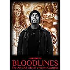 Bloodlines: The Art and Life of Vincent Castiglia Coming to DVD November 13th from MVD Entertainment