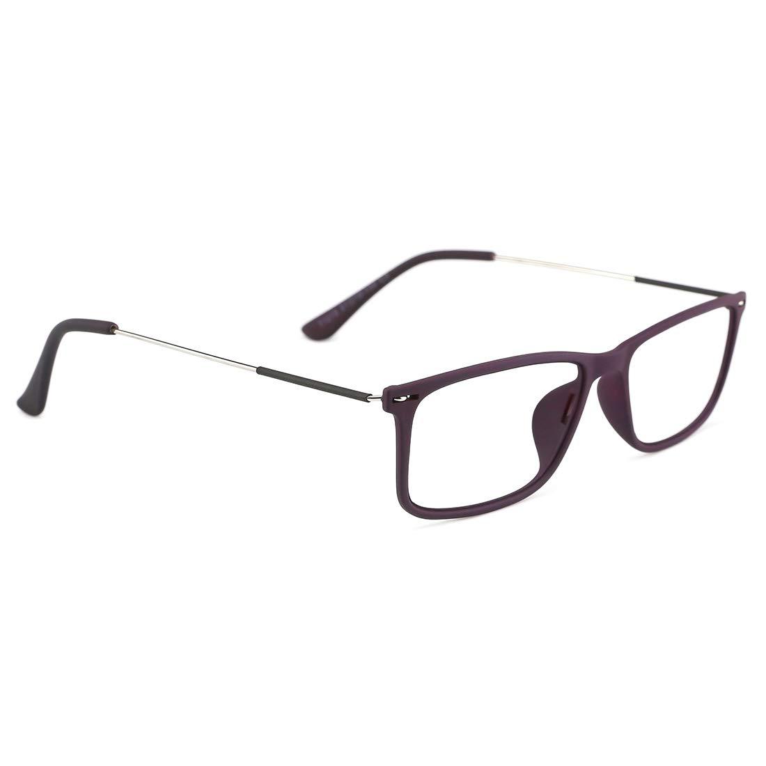 TIJN Ultraleichte quadratische Lesebrille Anti-Blaulicht Brillen Computerbrillen f/ür Damen Herren