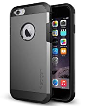 Spigen Tough Armor Designed for Apple iPhone, Designed for 6 (2014) / iPhone 6s (2015) - Gunmetal