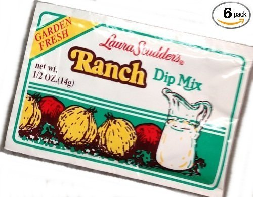 Laura Scudder's Green Onion & Ranch Dip Mixes (Pack of 6) by Laura Scudder