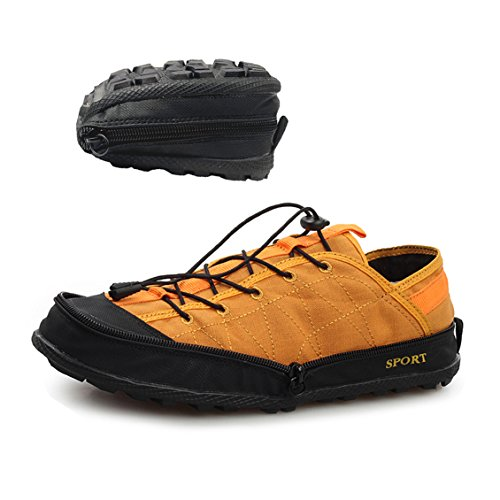BAIXITE Women's/Men's Foldable Travel Sneakers Ultra Light Anti-Slip Hiking Outdoor Shoes by BAIXITE