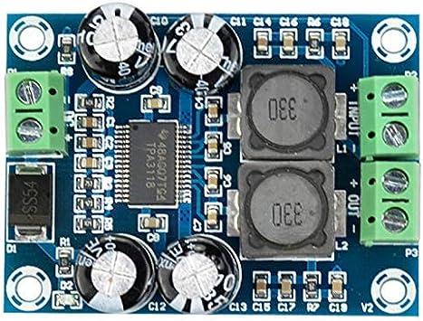 ARCELI Carte amplificateur 2pcs XH-M156 LM386 Module amplificateur /à Gain 200 Fois//Carte amplificateur Audio Mono