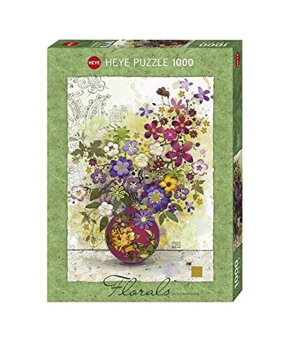 1000pc Pink Vase Jigsaw Puzzle