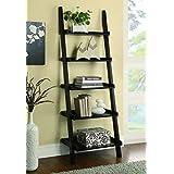 Coaster Home Furnishings Colella 5-shelf Ladder Bookcase Cappuccino