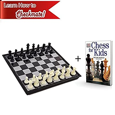 Chess Board for Kids with Chess Book for Beginners – Chess Set Learning Bundle