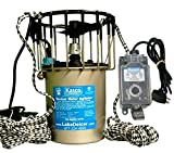 Kasco Marine Lake & Pond De-icer 1hp - 120v Deicer 25ft Power Cord & Ropes C-10 Timer Thermostat Controller