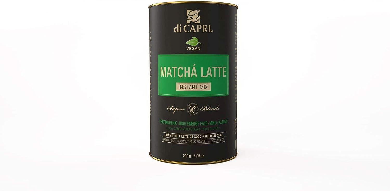 Matcha Latte Vegan Lata, Di Capri