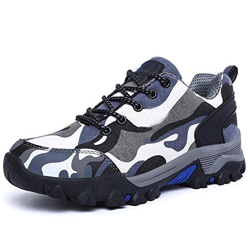 CHT Modelos Masculinos Modelos Femeninos En La Primavera Y El Otoño Y El Invierno Al Aire Libre Amantes De Los Zapatos Zapatos De Escalada Ciudad De Tamaño Multicolor De Senderismo Blue