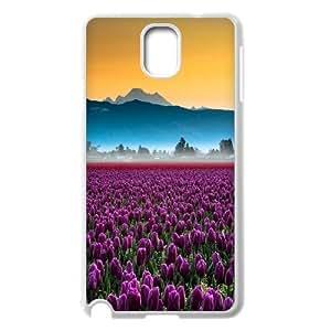 [QiongMai Phone Case] For Samsung Galaxy NOTE3 Case Cover -Beautiful Holland Tulip Flower-IKAI0446666