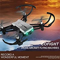 NXDA 1802 720P Wide Angle HD Camera Wifi FPV Drone Altitude Hold RC Mini Quadcopter (Gray)