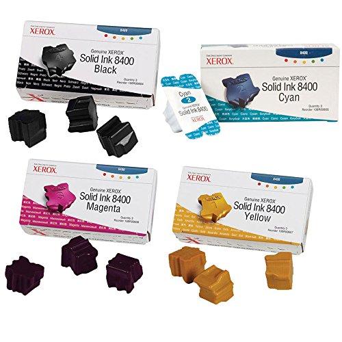 Xerox 108R00604, 108R00605, 108R00606, 108R00607 Cartridge Set - Phaser 8400