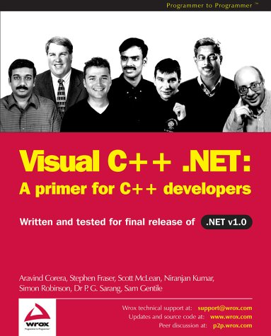 Read Online Visual C++ .NET: A Primer for C++ Developers pdf
