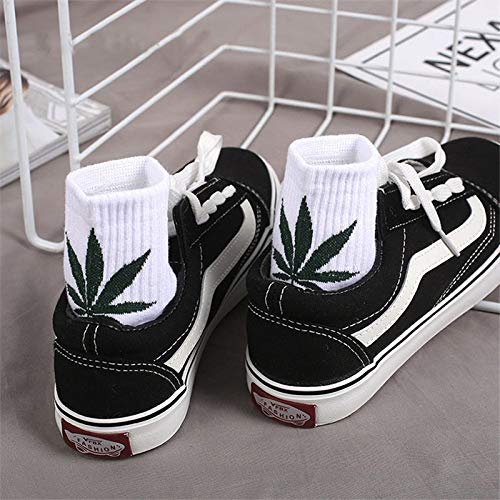 Amazon.com: Autumn Water New Spring Summer Cotton Skateboard Hip Hop Maple Leaf Socks Womens Street Boat Socks Female Girl Funny Socks: Kitchen & Dining