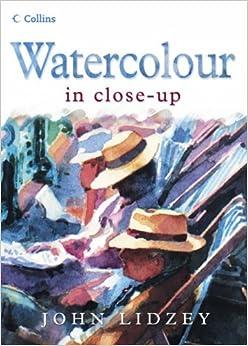 Book Watercolour in Close-Up
