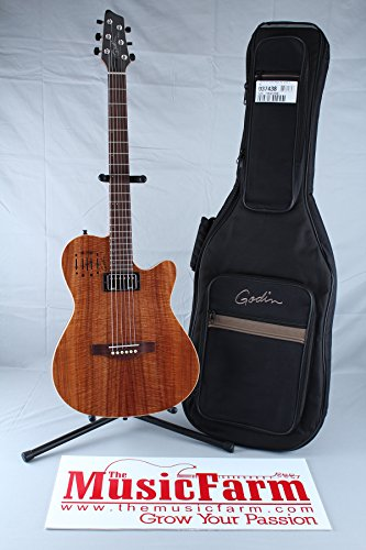 Godin A6 Ultra Acoustic-Electric Guitar (Koa High Gloss)