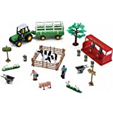 Farming Fun Playset with Tractor