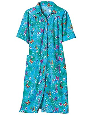 National Garden Melodies House Coat - Misses, Womens