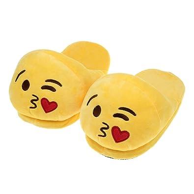 Drôle Unisexe peluche douce Chaussons Cozy Anti-dérapant Chaussures Accueil Indoor hiver chaud un6WNGB6mL