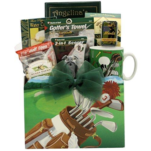 GreatArrivals Gift Baskets Golfing Around, Gourmet, Golf Gift Basket, 3 Pound (Around Gift Golfing)