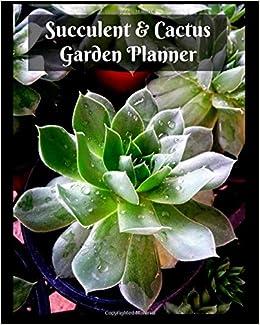 Succulents Cactus Garden Planner Large 8 X 10 Gardening