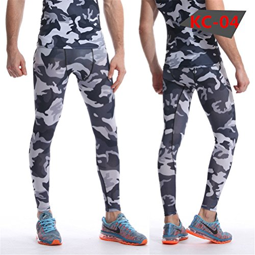 OHJIX Men's Pants - Base Layer Leggings - Advanced Compression & Muscle Recovery for Running, Training & Athletics - Pakistan Shopping Websites