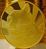 """DOGECOIN - Gold Plated - """"Cryptocurrencies You Hold"""""""