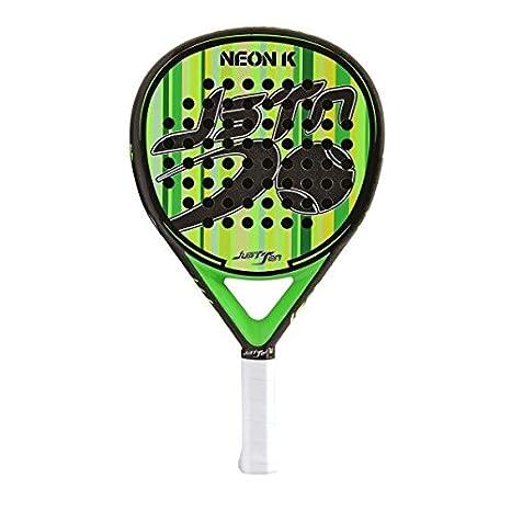 Pala Padel JUSTTEN Neon K 2018 Verde: Amazon.es: Deportes y ...