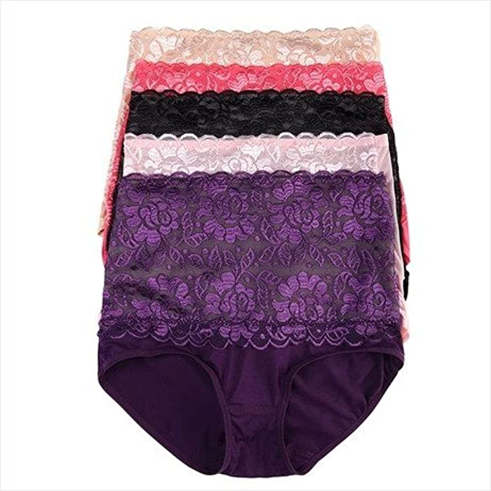 f098a7fc90 3 Pcs lot New Sexy Female Underwear Bamboo Fibre Plus Size Panties Seamless Panty  Women Big Size Briefs High Waist Ladies  Underwear