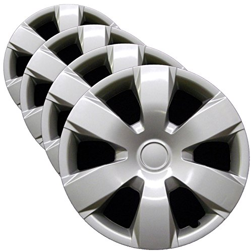 (Premium Hubcap Set for Toyota Camry 2007-2011 - Replacement 16-inch Wheel Covers (4-Pack))