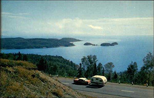 Terrace Bay - Terrace Bay Motor Hotel Terrace Bay, Ontario Canada Original Vintage Postcard