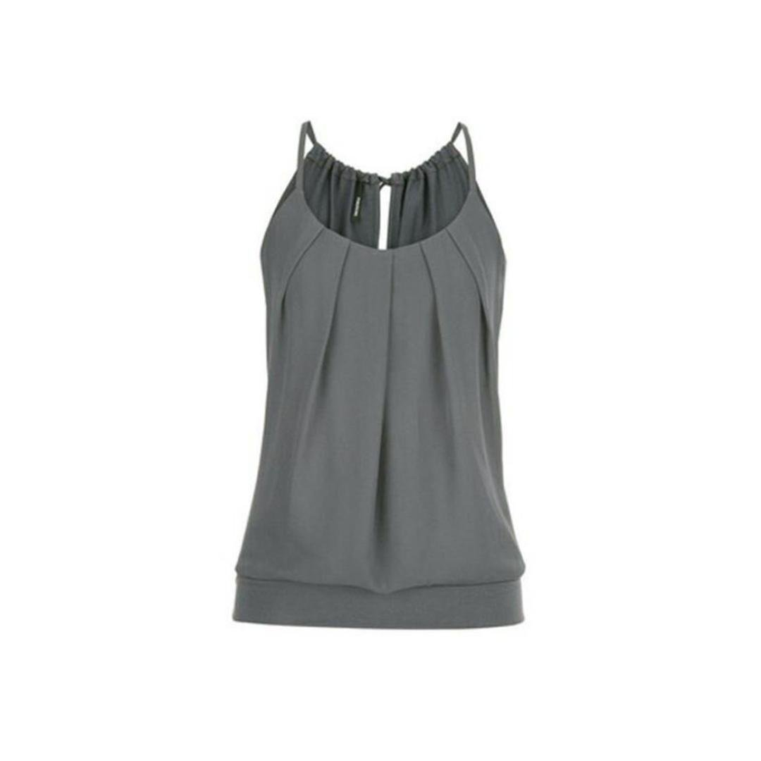 5988199c37 Tank Tops for Women 2018, Solid Sleeveless Blouse Casual Summer Ruffled Cami  Vest Camisole at Amazon Women's Clothing store: