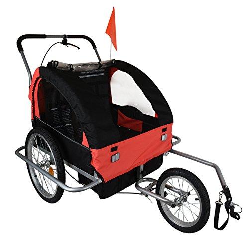 2 Seat 3 Wheel Stroller - 2