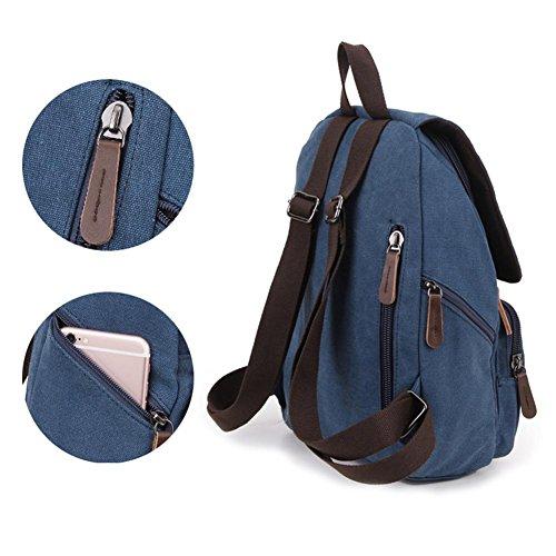 Piccola borsa da spalla, maschio tela mini zaino, sacchetto dell'allievo, il sacchetto di tendenza di moda, piccolo zaino casuale