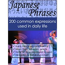 Japanese Phrases: 200 common expressions used in daily life