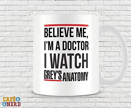 CANECA GREY'S ANATOMY I'M A DOCTOR