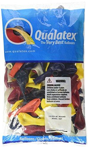 Qualatex Q0550 43563 JEWEL ASSORTMENT, 5 Inch, Multi-Color