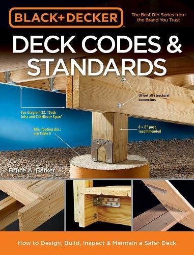 Cheap  Black & Decker Deck Codes & Standards: How to Design, Build, Inspect..