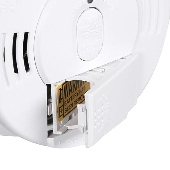 Kidde i12060 detectores de humo alarma con respaldo de carga frontal recargable humo alarma: Amazon.es: Bricolaje y herramientas