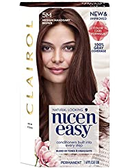 Clairol Nice 'n Easy Permanent Hair Color, 5M Medium...