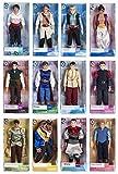 2017 Disney Princes Classic Doll Set Kristoff-Hans-Prince Eric-Flynn Rider-Beast-Prince Charming-Snow White's Prince-Prince Phillip-Aladdin-Prince Naveen-John Smith-Li Shang Toy Collectible