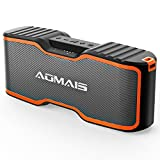 (2018 Upgrade) AOMAIS Sport II+ Bluetooth Speakers, Portable Wireless Speaker with Loud Sound, IPX7 Waterproof, 20 Hours Playtime, 99 ft Bluetooth Range & Built-in Mic, Perfect for Party, Beach,Shower