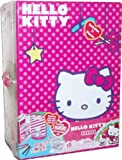 Sanrio Hello Kitty Keeper Box Set with 1 Keepers, 1 Hello Kitty Figurine, 5 Washable Markers, 2 Sticker Sheets and 2 Dioramas