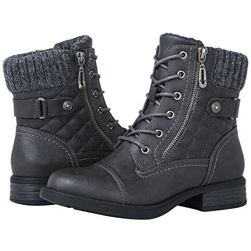 Grey Boots For Women - 3
