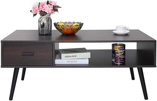 IWELL Mid-Century Coffee Table