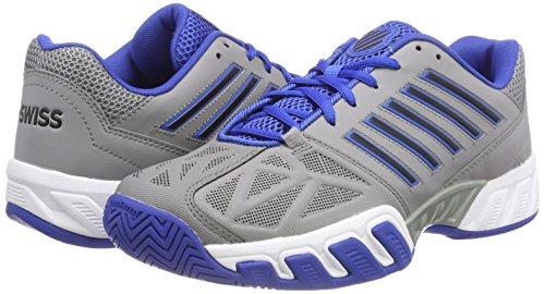 Bleu titane Fort Hommes Tennis Grises Performance Noir 48 K Pour 3 Bigshot Light De swiss Tfw Ks Chaussures wgqBfZ