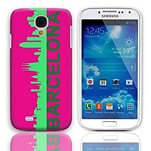 LHY Samsung S4 I9500 compatible Graphic/Cartoon/Special Design/National Flag Plastic Back Cover